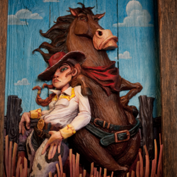 Toy Story Sculpture