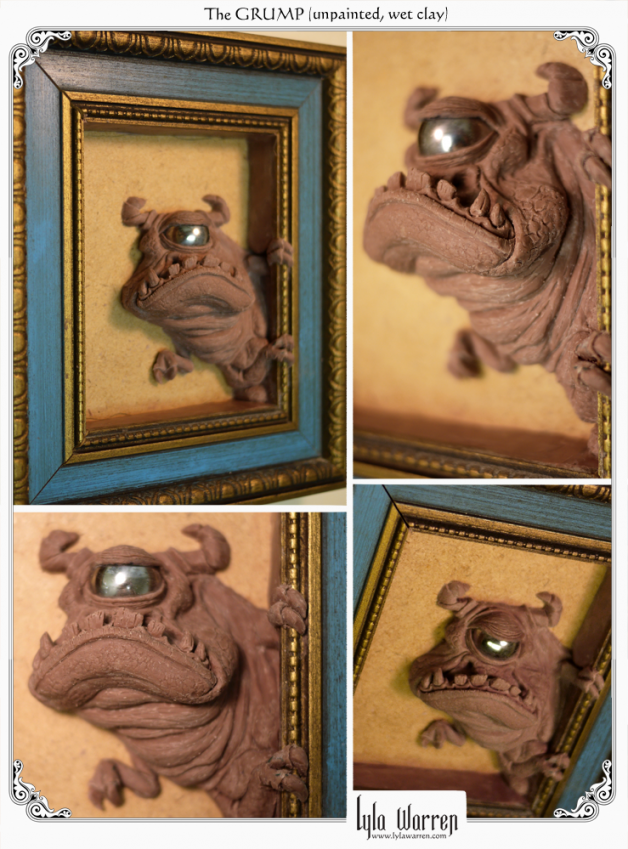 The GRUMP from the Peeking Monster series