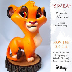 """Simba"" Maquette (Limited Edition of 15)"