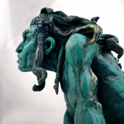 Zona sculpture (character from Hominids comic)