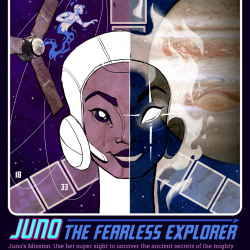 Comic about Nasa's Juno Mission