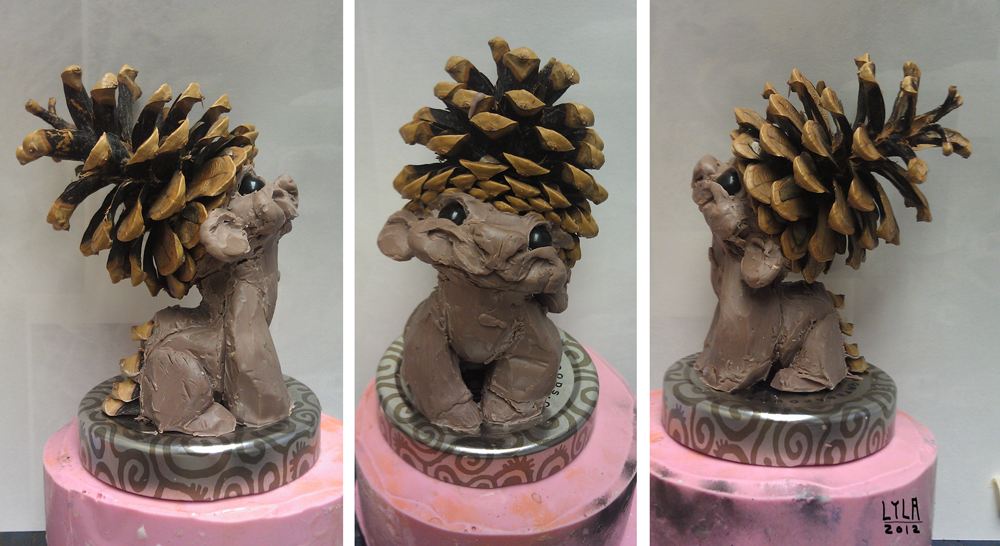 pinecone_clay