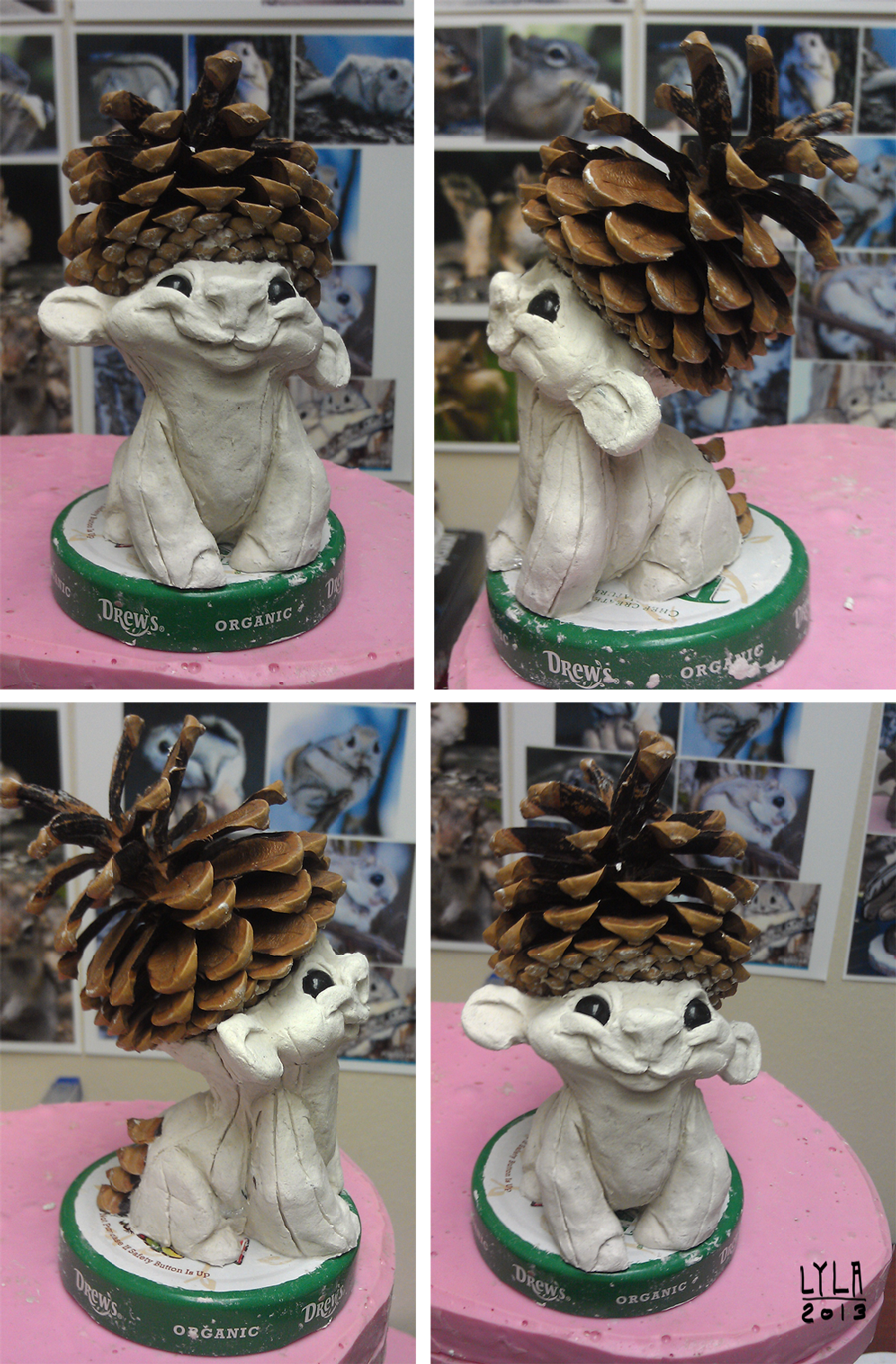 pinecone_paperclay