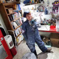 Dirty Coveralls